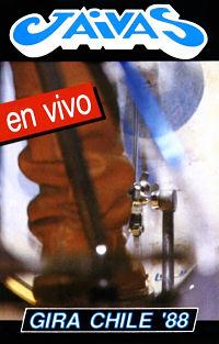 los jaivas gira chile 88 cassette