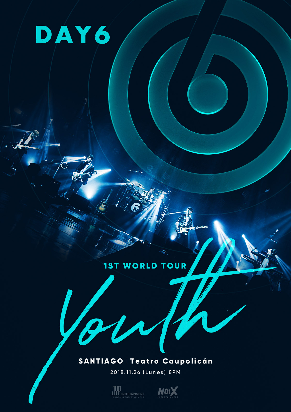 DAY6_1st tour_Main poster_CL